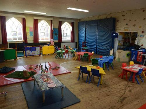 inside london road preschool dereham